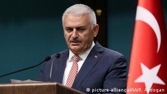 Türkei Binali Yildirim stellt neues Kabinett vor