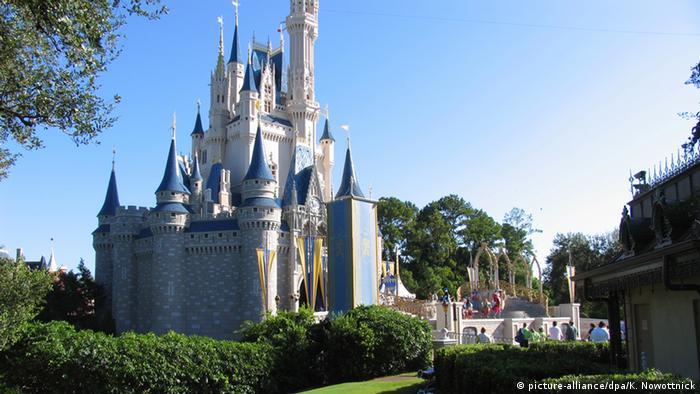 Inspiração para o castelo da Disney