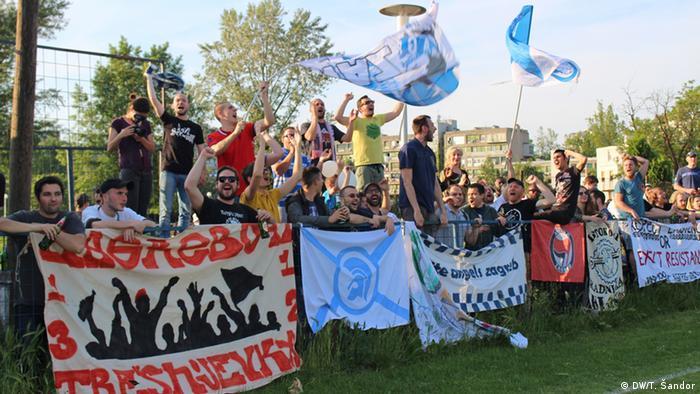 Kroatien Fans von Zagreb 041