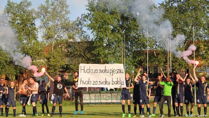 Kroatien Dank an Fans