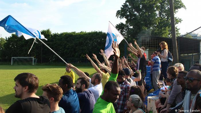 Kroatien Integration der Flüchtlinge durch Sport FC Zagreb 041