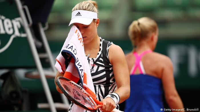 Deutschland Angelique Kerber bei French Open 2016