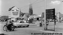 Bonn Straßenkreuzung 1960
