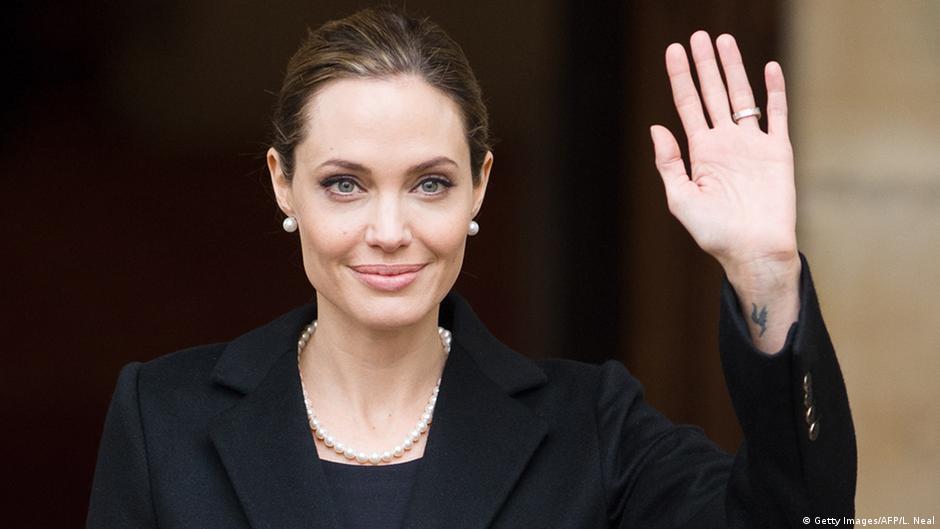 Großbritannien Angelina Jolie in London