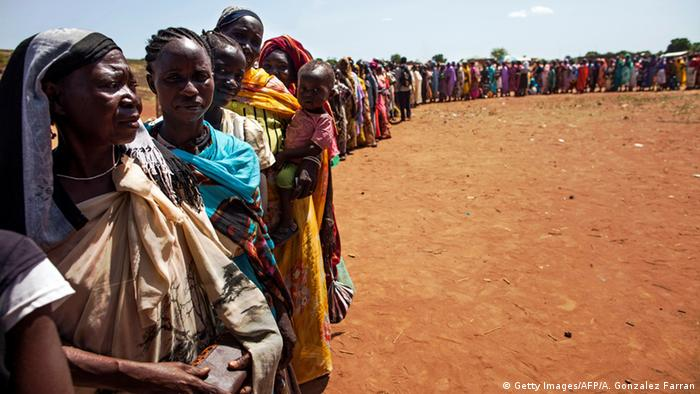 Süsdsudan Binnenflüchtlinge в Вау (Getty Images / AFP / А. Гонсалес Фарран)