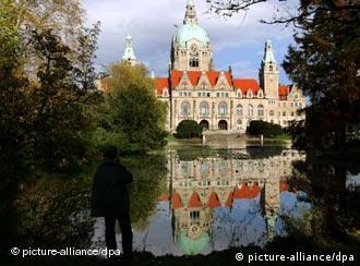 El nuevo ayuntamiento de Hannover