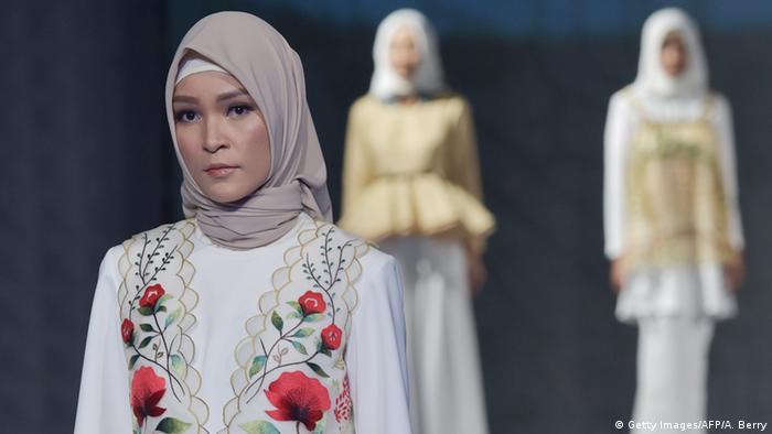 Indonesien Jakarta Muslim Fashion Festival