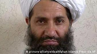 The new leader of Taliban fighters, Mullah Haibatullah Akhundzada poses for a portrait (Photo: picture-alliance/dpa/Afghan Islamic Press via AP)