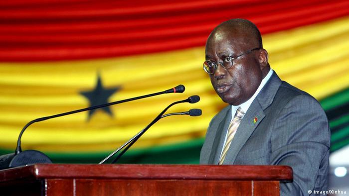 Afrika Nana Akufo-Addo Außenminister (imago/Xinhua)