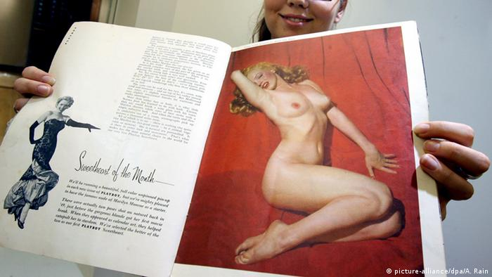 Marilyn Monroe in Playboy magazine (Foto: picture-alliance/DPA/A. Rain)