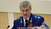 Russland Generalstaatsanwalt Jurij Tschajka