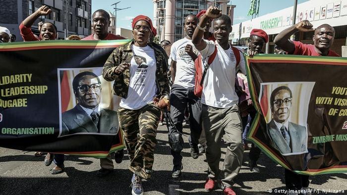 Zimbabwe March (c) Getty Images/AFP/J. Njikizana