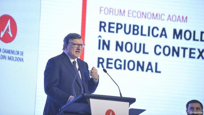 José Manuel Barroso la Chișinău