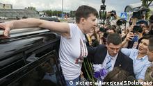 Russland Nadija Sawtschenko Freilassung