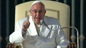 Papst Franziskus - Foto: DW-TV