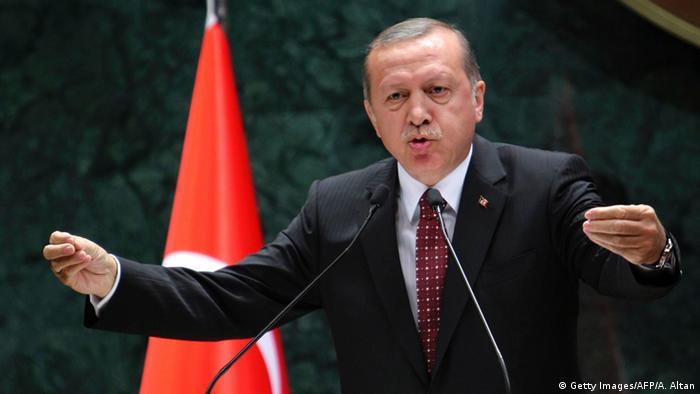 Türkei Ankara Präsident Recep Tayyip Erdogan