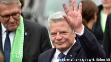 100. Deutscher Katholikentag in Leipzig Joachim Gauck