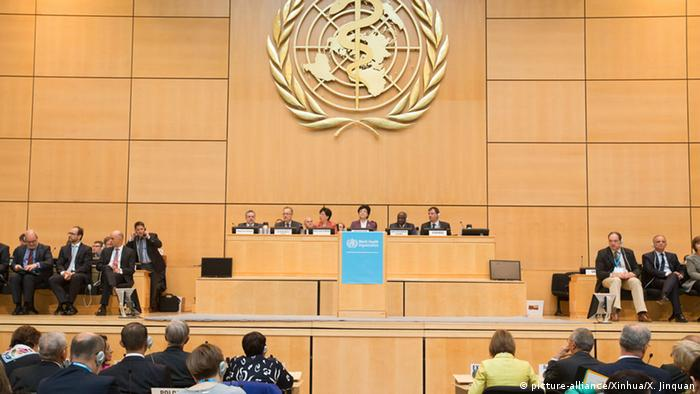 Schweiz WHO World Health Assembly WHA (picture-alliance/Xinhua/X. Jinquan)