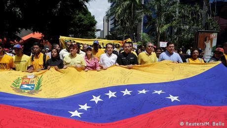 Venezuela Proteste der Opposition in Caracas