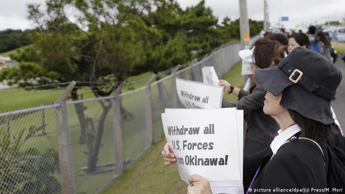 Japan Proteste in Okinawa