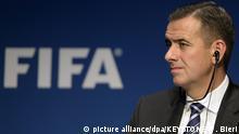 Schweiz FIFA-Interimsgeneralsekretär Markus Kattner in Zürich