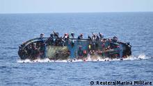 Mittelmeer Flüchtlinge Rettungsaktion
