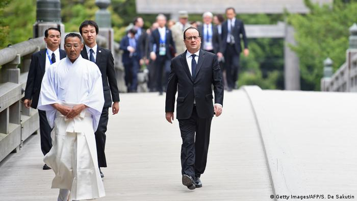 Japan G7-Gipfel Francois Hollande in Ise-Shima