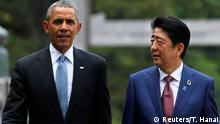Japan G7-Gipfel Barack Obama und Shinzo Abe in Ise-Shima