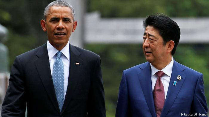 Japan G7-Gipfel Barack Obama und Shinzo Abe in Ise-Shima (Reuters/T. Hanai)