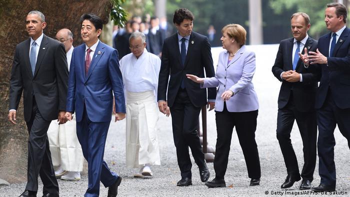 Japan G7-Gipfel in Ise-Shima (Foto: AFP)