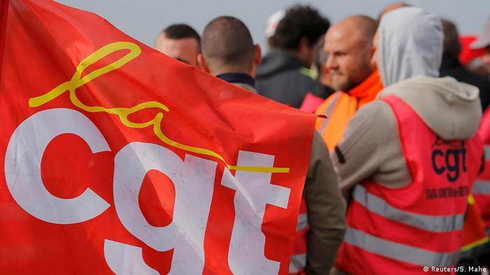 Frankreich Arbeitsmarktreform Streik der Gewerkschaft CGT