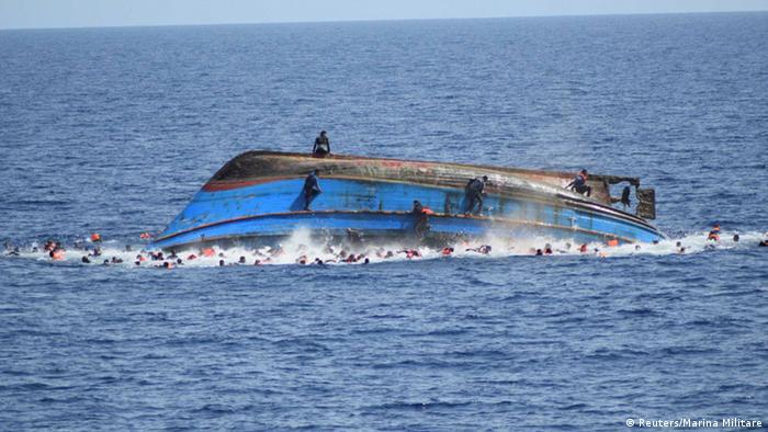 Travessia do Mediterrâneo matou mais de mil em uma semana