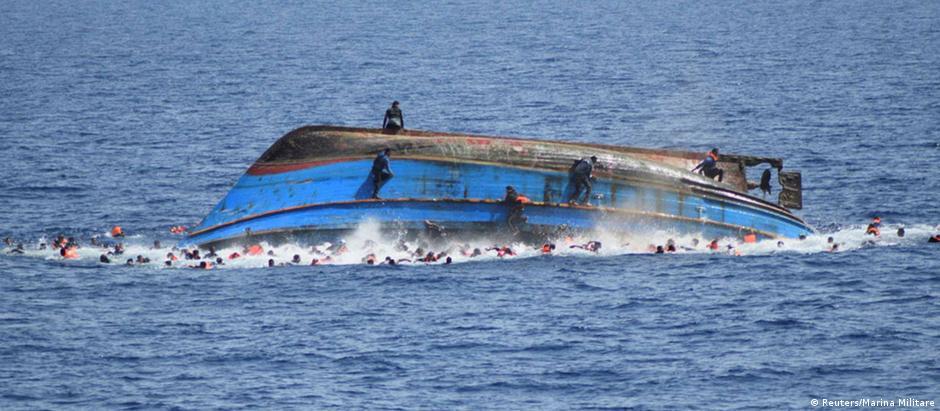 Nove naufrágios deixam mil mortos em uma semana no Mediterrâneo