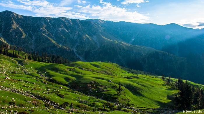 Gabina Jabba Region in Pakistan (DW/A.Bache)