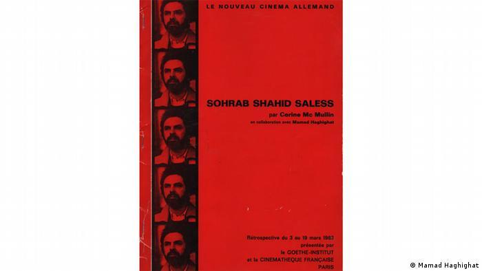 Buchcover Dokumentation über Sohrab Shahid Saless