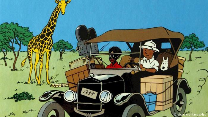 Tim und Struppi Tintin au Congo