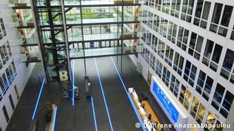 Τα κεντρικά γραφεία της Fraport στο αεροδρόμιο της Φραγκφούρτης