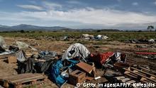 Griechenland Idomeni Flüchtlingscamp Räumung