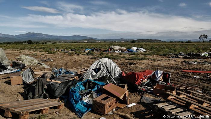 Ликвидация лагеря в Идомени