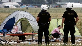 Το κλείσιμο του καταυλισμού προσφύγων στην Ειδομένη σχολιάστηκε από τον γερμανικό τύπο