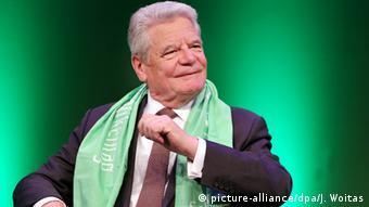Deutschland 100. Deutsche Katholikentag Bundespräsident Joachim Gauck in Leipzig