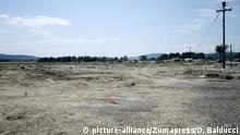 May 26, 2016 - Gevgelija, Greece - Greece/Macedonia border Idomeni/Gevgelija may, 26 2016.The inside of the Idomeni refugees camp as it is today , the tents and the structures have been permanently dismantled and the last refugees left the camp , bringing with them their luggage   (c) picture-alliance/Zumapress/D. Balducci