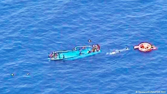 Аварія одного з суден з мігрантами біля узбережжя Лівії (архівне фото)