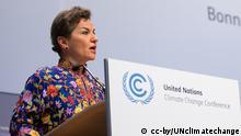 Deutschland Christiana Figueres in Bonn