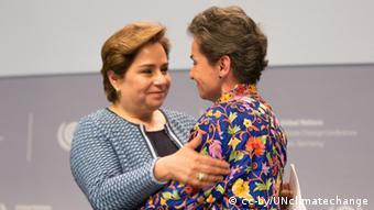 Deutschland Christiana Figueres und Patricia Espinosa in Bonn