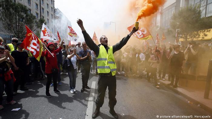 Frankreich Proteste Paris