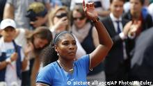 Frankreich French Open Serena Williams in Paris