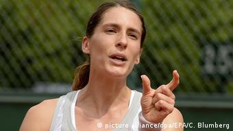 Frankreich French Open Andrea Petkovic in Paris