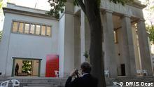 25.05.2016 Architektur-Biennale Venedig: Der deutsche Pavillon; Copyright: DW/S. Dege