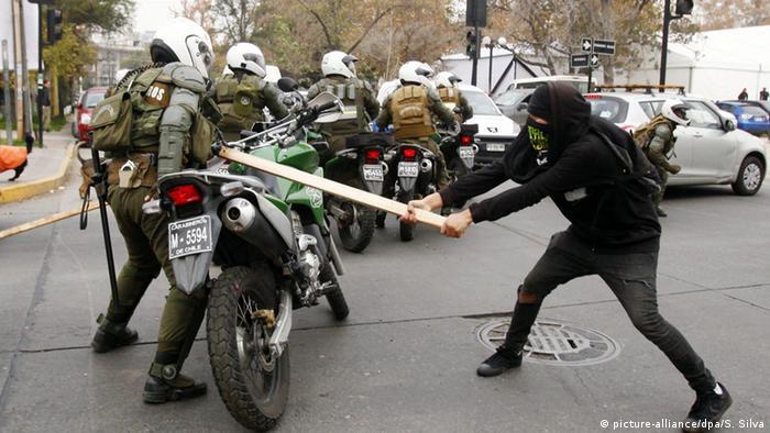 Chile Proteste Schüler